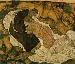 Egon Schiele, Morte e ragazza (1915-1916) Vienna, Osterreichische Galerie