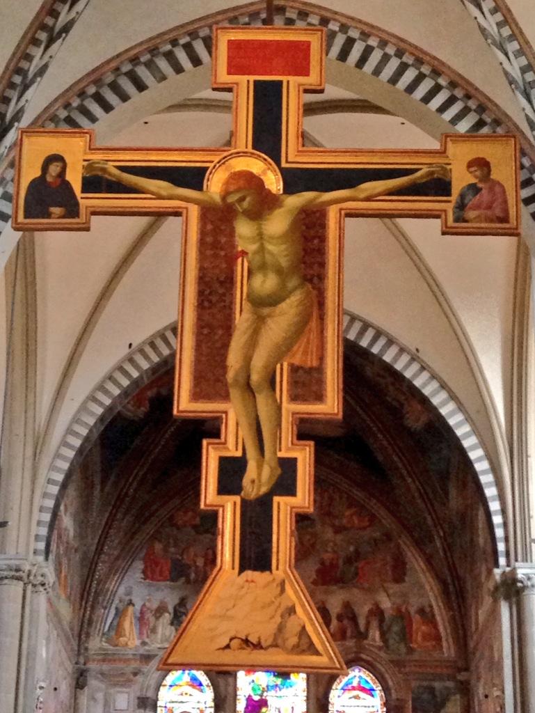 Crocifisso di Giotto, S. Maria Novella, Firenze