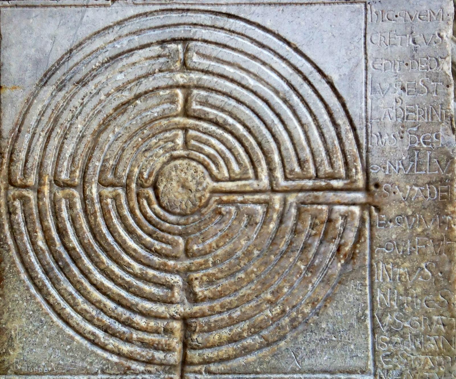Labirinto, Cattedrale di Lucca