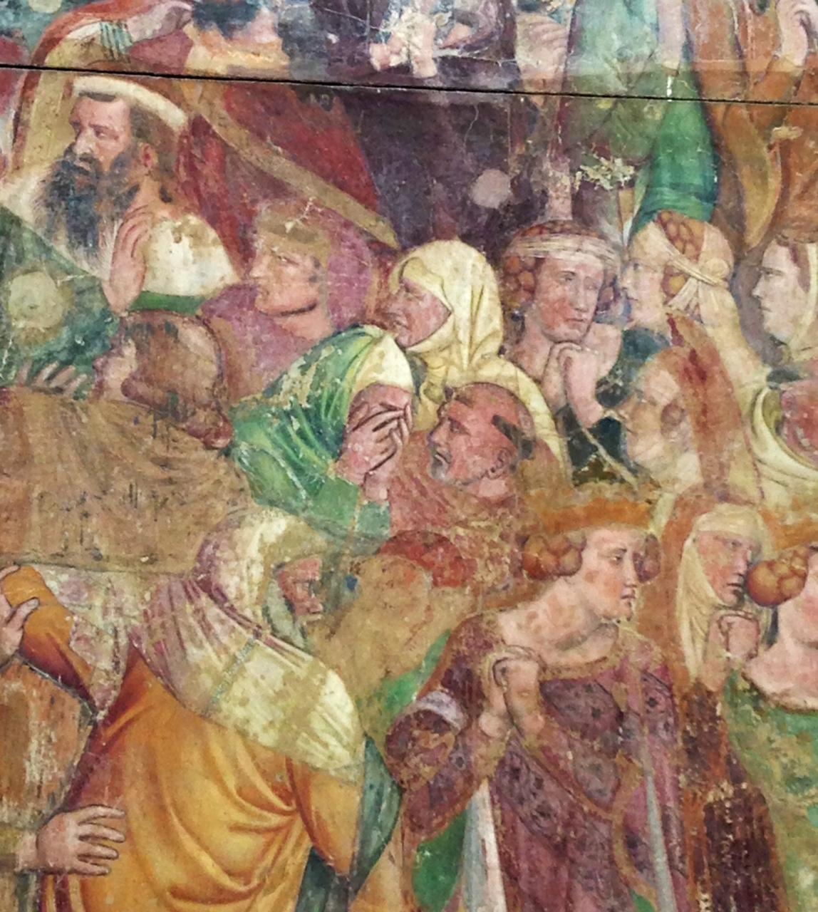 Affresco, Cimitero di Pisa